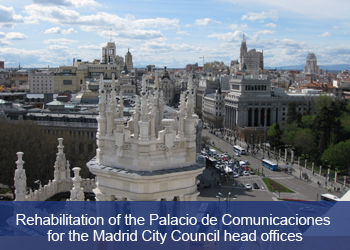 Link to Ciudad FCC, Rehabilitation of the Palacio de Cibeles, Spain (Opens in new tab)