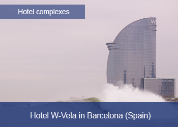 Link to Ciudad FCC, Hotel W-Vela Barcelona, ​​Spain (Opens in a new tab)