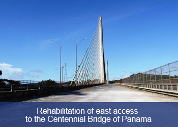 Link to Ciudad FCC, Rehabilitation of the eastern access to the Centennial Bridge of Panama (Opens in a new tab)