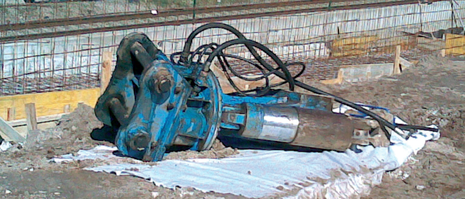 Protection of the ground on which equipment and machinery are parked.