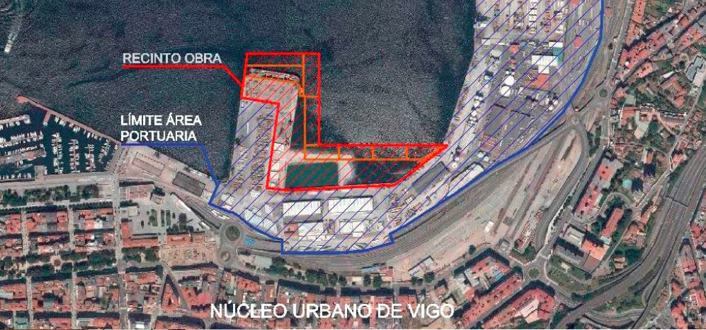 Site location: close to Vigo city centre.